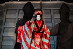 Bunraku poppenspel in Osaka