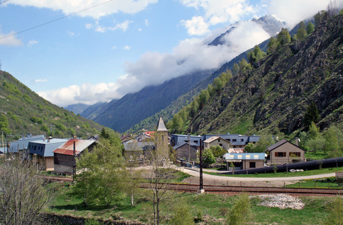 Reizen met de trein naar Andorra