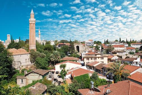 Vliegen naar Antalya