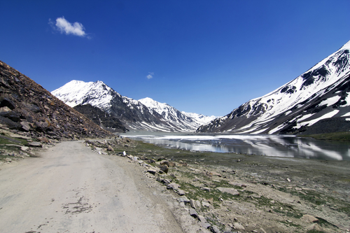Leh Manali Highway in India