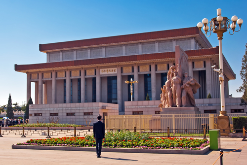 Mausoleum van Mao in Peking