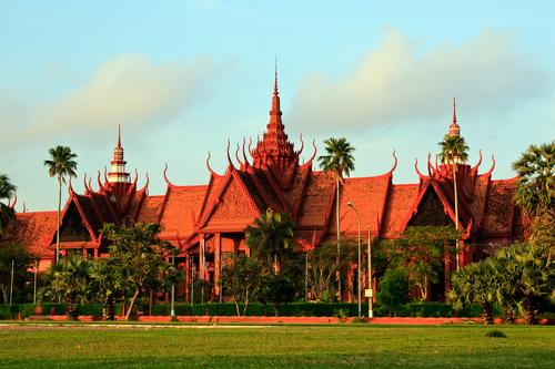 Nationaal Museum in Phnom Penh, Cambodja
