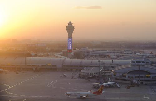 Vliegen naar Peking