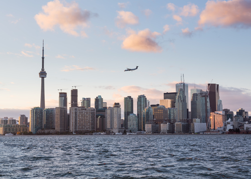 Vliegen naar Toronto