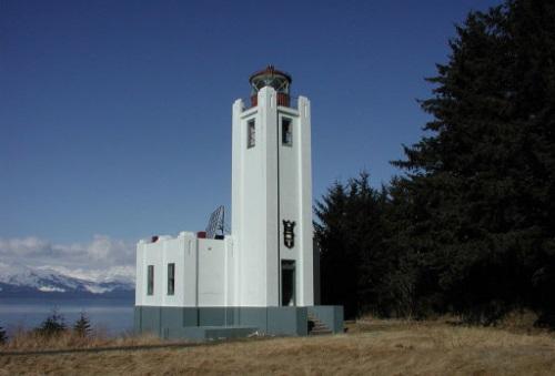 Sentinel Vuurtoren in Alaska