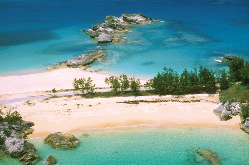 Whale Bay in Bermuda