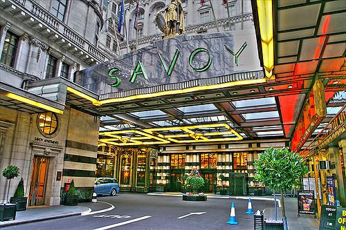 Savoy Hotel in Londen