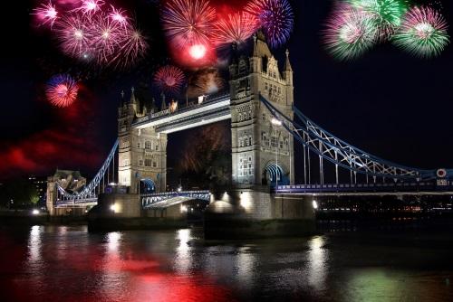 Vuurwerk in Londen