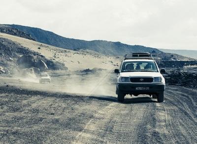 Reizen met de auto naar Djibouti
