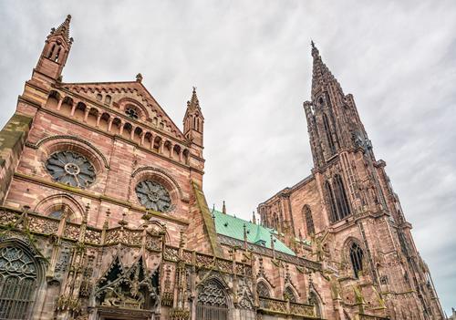 Kathedraal in Straatsburg, Frankrijk