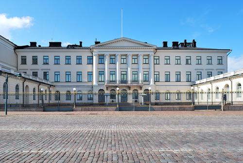 Presidentieel paleis in Helsinki
