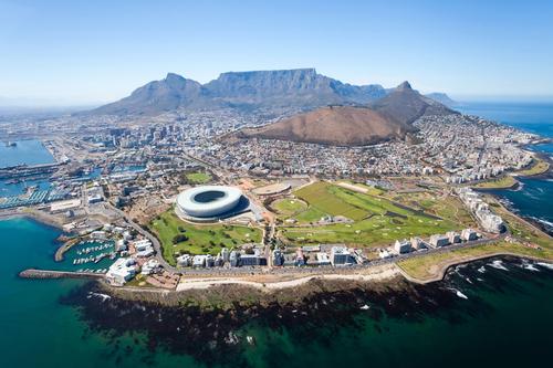 Vliegen naar Kaapstad, Zuid-Afrika