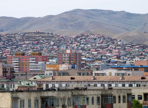Vliegen naar Ulaanbaatar, Mongolië