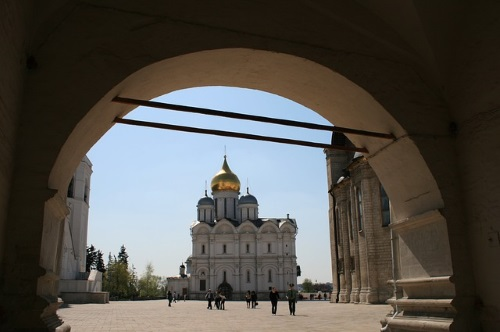 Aartsengel Michaelkathedraal in Moskou