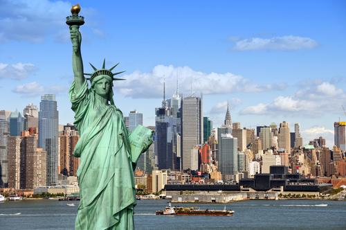 Vliegen naar New York City