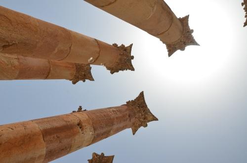 Reizen door Jordanië