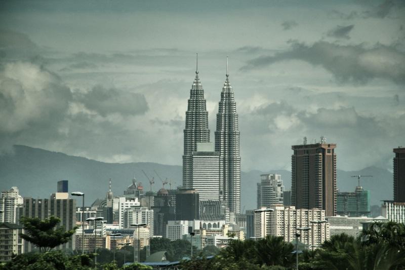 Zicht op Petronas Towers