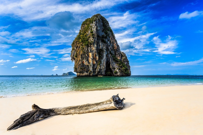 Vakantie in Railay Beach, Thailand