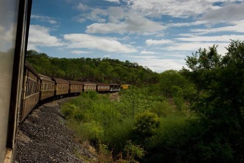 Reizen met de trein naar Zambia