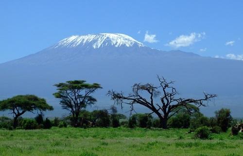 Vliegen naar Kilimanjaro