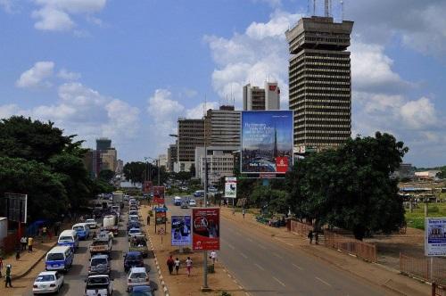 Vliegen naar Lusaka, Zambia