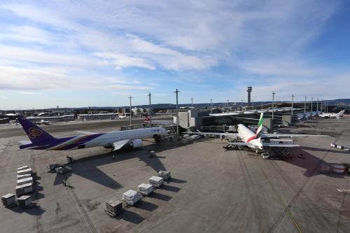 Vliegen naar Oslo, Noorwegen