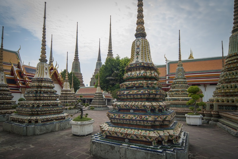 What Po tempel in Bangkok