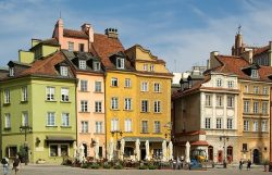 Warschau vakantie