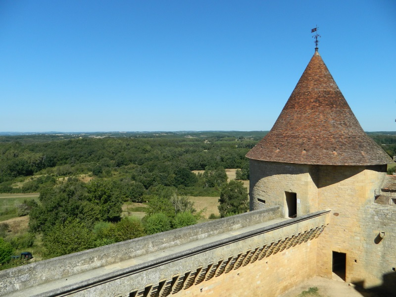 Toren van Château de Biron, Dordogne