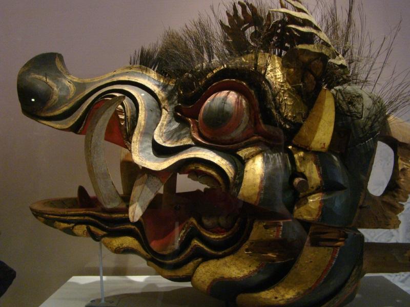 Sculptuur in Nationaal Museum, Jakarta