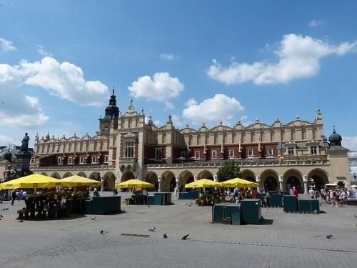 Marktplein Krakau