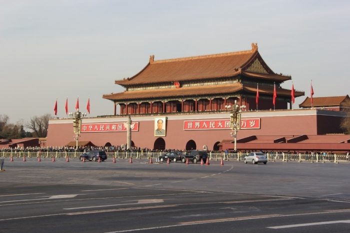 Tiananmen-plein in Peking