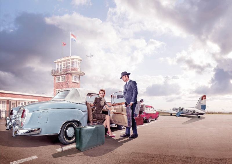 Schiphol jaren vijftig foto 3
