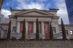 Entree Vancouver Art Gallery