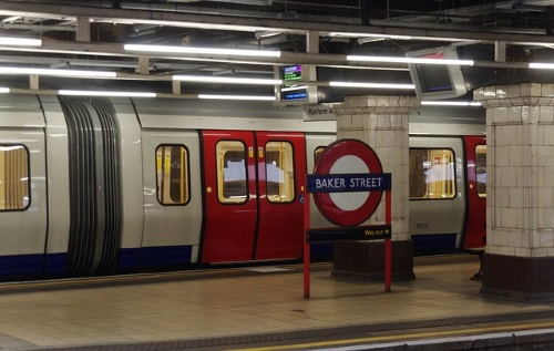 Metrostation Londen