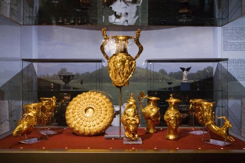 Panagyurishte Schat in Nationaal Historisch Museum, Sofia